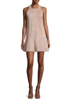 Joie Amedia Suede Sleeveless Mini Dress