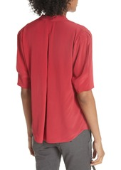 e4536a8e702a9 Joie Joie Ance Pleated Back Short Sleeve Blouse Now  136.80