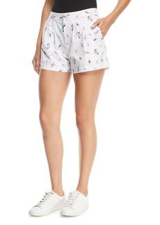 Joie Anci Floral-Print Shorts