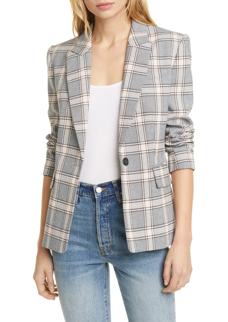 Joie Anilah Plaid Jacket