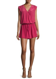 Joie Aniya Sleeveless Silk Mini Dress