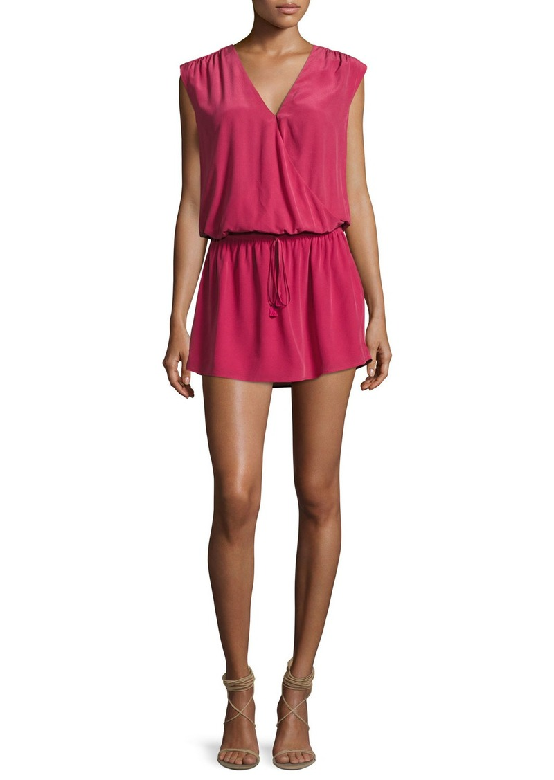 Joie Aniya Sleeveless Silk Mini Dress
