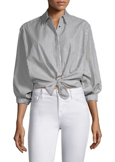 Joie Anjanique Sailor Striped Blouse