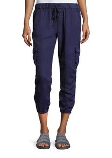 Joie Argine Linen Jogger Pants