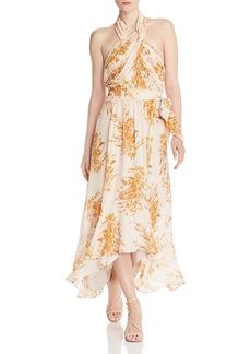 Joie Arney Floral Halter Dress