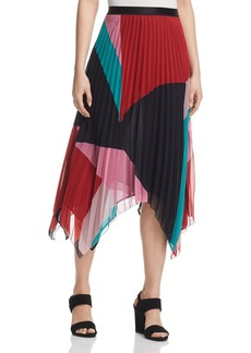 Joie Ashiella Pleated Midi Skirt