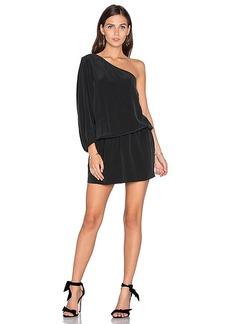 Joie Ashton One Shoulder Dress in Black. - size S (also in L,XS)