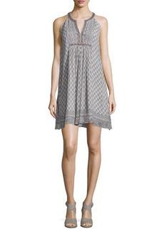 Joie Astor Printed Silk Dress