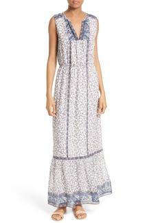 Joie Atisha Mixed Print Maxi Dress