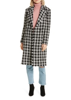 Joie Aubrielle Houndstooth Coat