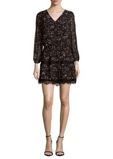 Joie Auggie Floral Lace Dress
