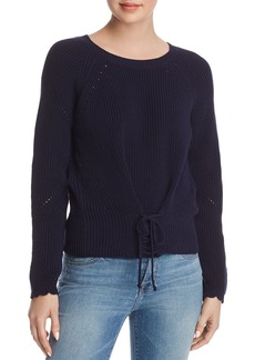 Joie Balere Lace-Up Sweater