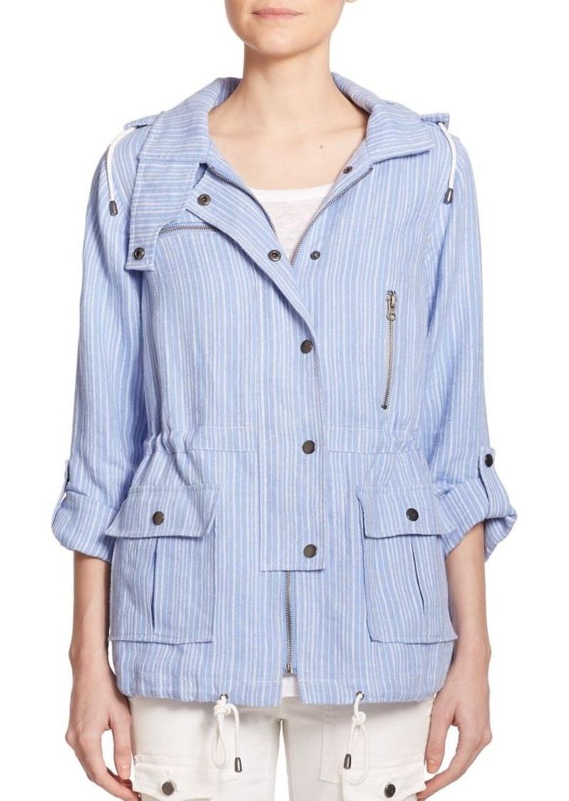 Joie Barker Striped Jacket