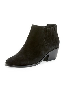 Joie Barlow Suede Pointed-Toe Bootie