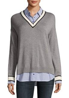 Joie Belva V-Neck Pullover Sweater