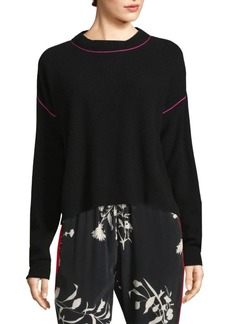 Benin Contrast Tipped Sweater