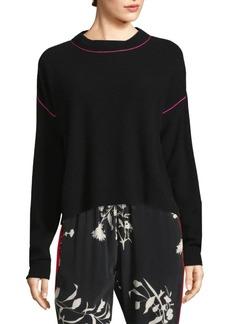 Joie Benin Contrast Tipped Sweater