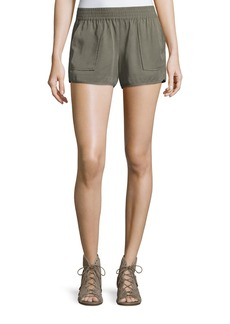 Joie Beso Smocked Linen Shorts