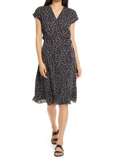Joie Bethwyn B Floral True Wrap Silk Dress