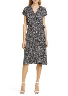 Joie Bethwyn Ditsy Wrap Front Dress