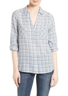 Joie Blas Plaid Shirt