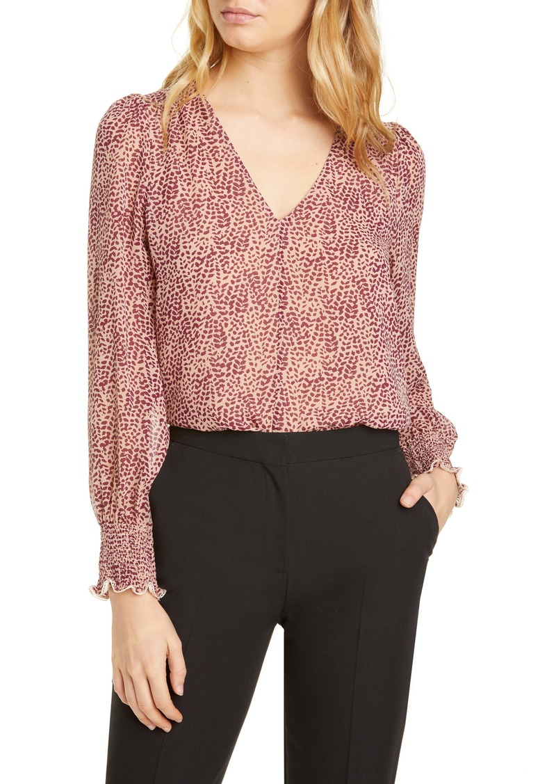 Joie Bolona E V-Neck Silk Top