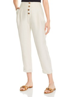 Joie Braden High-Rise Pleated Pants