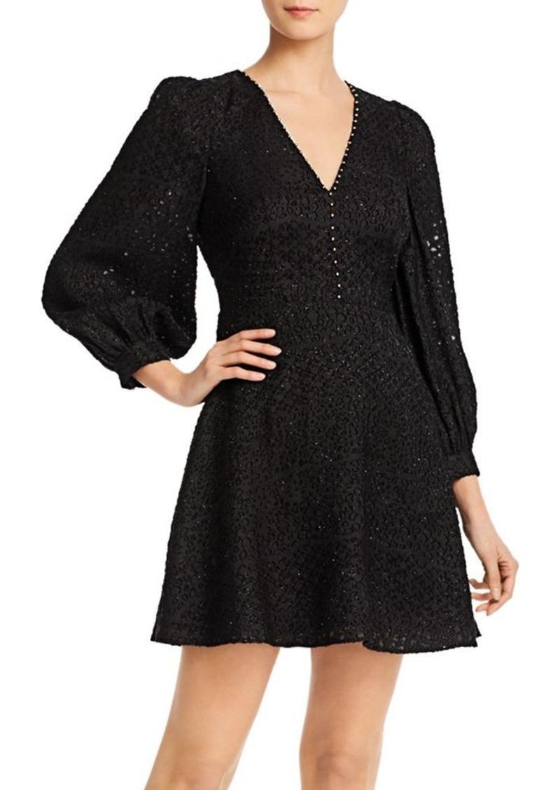 Joie Breena Tonal-Embroidered Dress