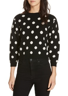 Joie Brettina B Polka Dot Sweater