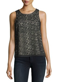 Joie Bria Sleeveless Lace Top