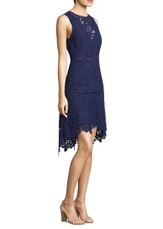 Joie Bridley Floral Lace A-Line Dress