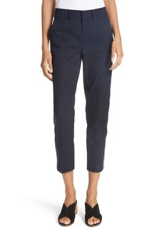 Joie Brookley Stripe Trim Ankle Pants