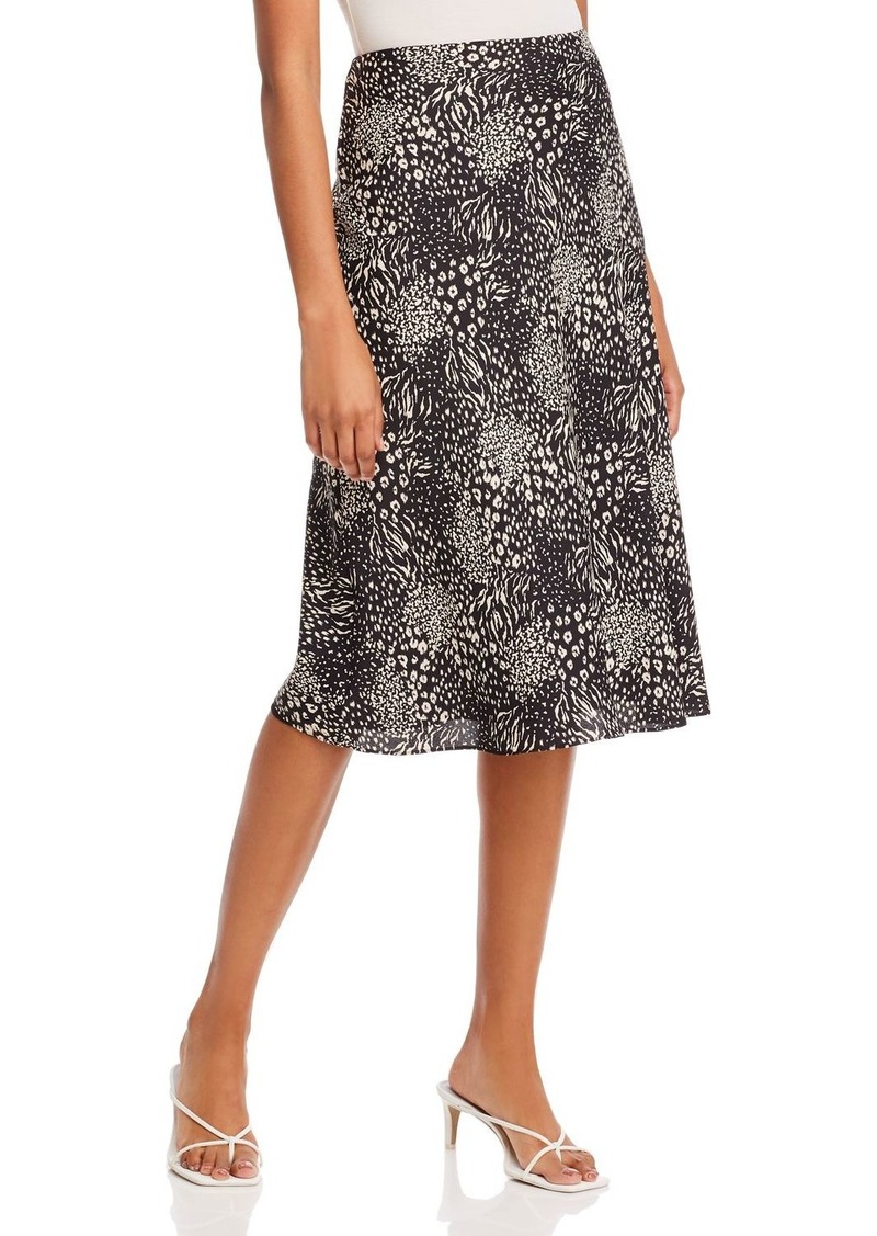 Joie Brystal Floral Midi Skirt