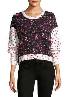Joie Caleigh Floral Sweatshirt