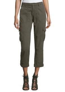 Joie Cargo Pants w/ Embellished Side Stripe