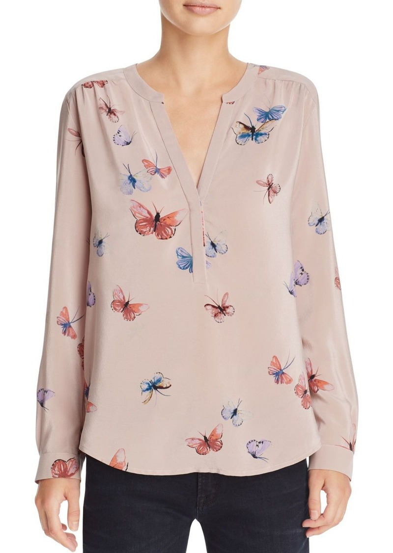 4a0c803e6bc0ee Joie Joie Carita Printed Silk Top