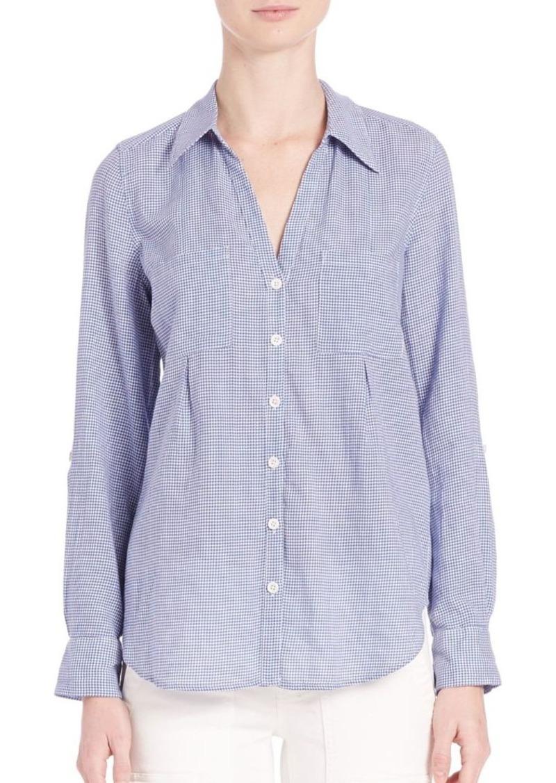Joie Cartel Button-Front Shirt