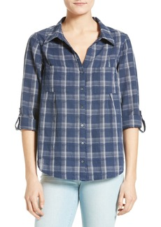 Joie Cartel Plaid Cotton Shirt
