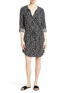 Joie Cassina Print Shirtdress