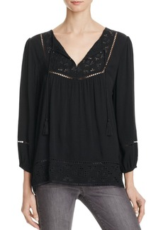 Joie Cathora Eyelet Trimmed Blouse