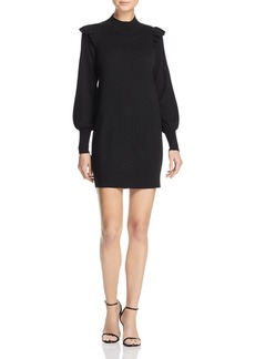 Joie Catriona Wool-Silk Mini Dress
