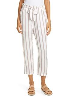 Joie Cavell Stripe Tie Waist Pants