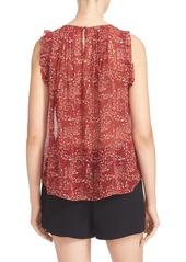 Joie 'Celadine' Floral Print Silk Top