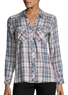 Joie Cenna Multicolor Plaid Shirt