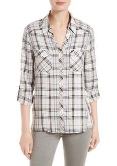 Joie Cenna Plaid Shirt