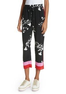 Joie Ceylon Silk Drawstring Pants