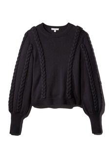 Joie Chasa Braid Detail Sweater