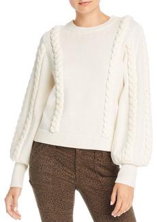 Joie Chasa Braid Detail Sweater