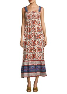 Joie Chisuzu Batik Maxi Dress