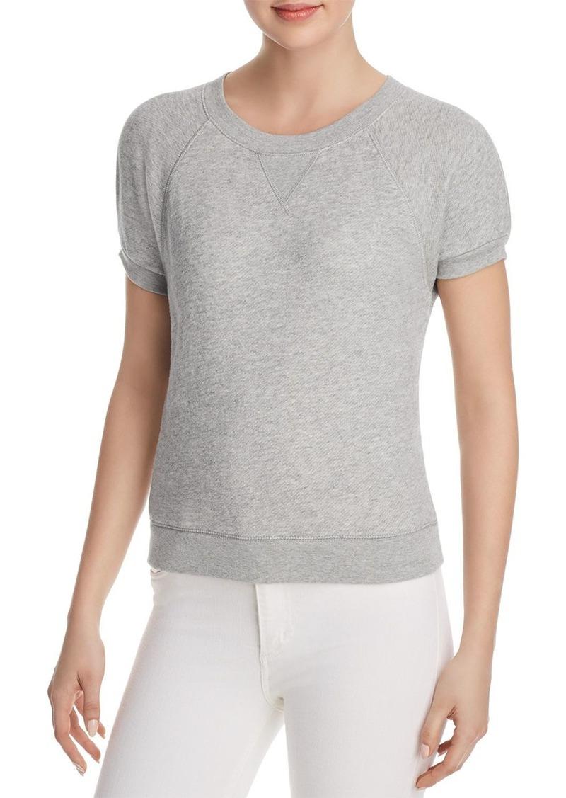 Joie Christa Short-Sleeve Sweatshirt